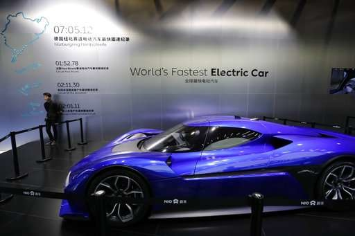 China propels rise of electric ultra-high-performance cars