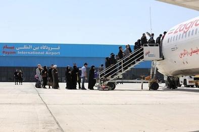پروازهای فرودگاه پیام به مقصد اهواز افزایش یافت