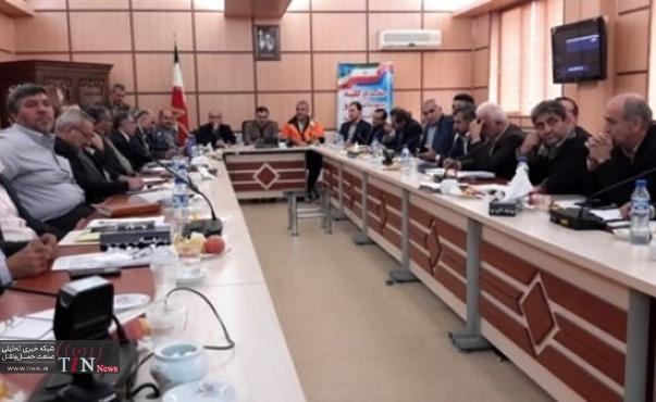 نشست ستاد راهداری زمستانی اداره کل راهداری و حمل و نقل جاده ای استان مازندران