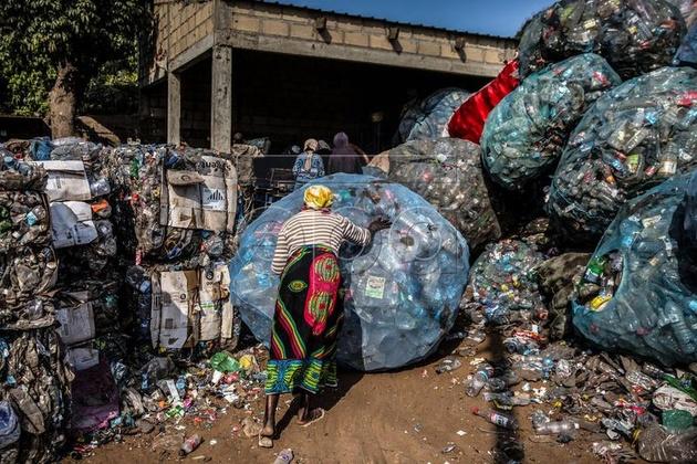 بازیافت اشغال در موزامبیک