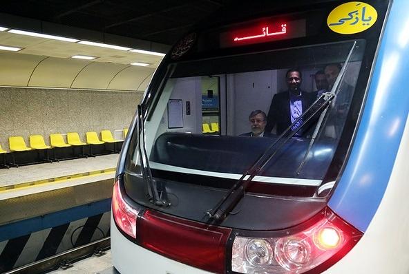 استفاده چهار هزار مسافر از خط 6 مترو با گذشت یک روز از بهرهبرداری