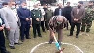 آغاز پروژه 60 واحدی شهید سلیمانی شهرستان آمل
