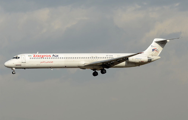 ترکیه به هواپیمای «زاگرس» سوخت نداد