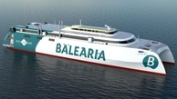 Balearia Unveils Construction of World's 1st Dual-Fuel RoPax Fast Ferry