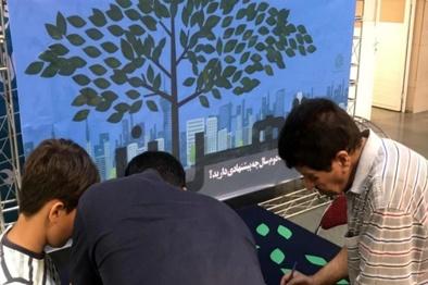 برگزاری پویش مردمی «دود بدرود» در  متروی تهران