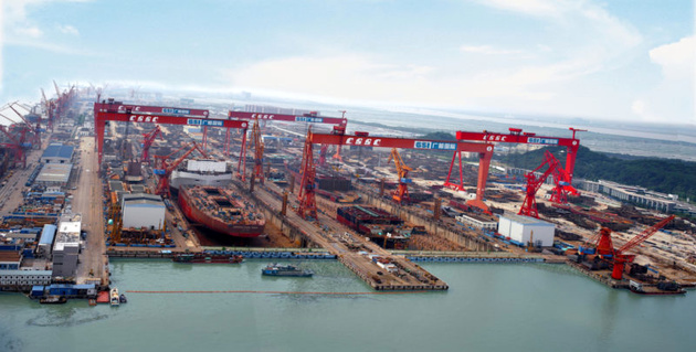 China Establishes World's Largest Shipbuilding Group -State Media