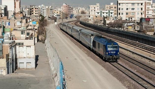 خط آهن تهران-مشهد به زیرزمین منتقل میشود