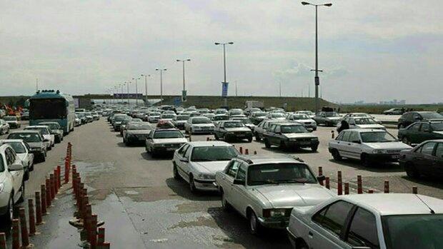 ترافیک پرحجم در محور شهریار