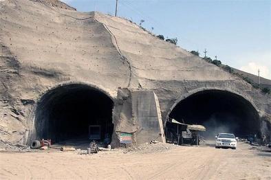 اعلام وضعیت تونل منفجرشده آزادراه تهران-شمال