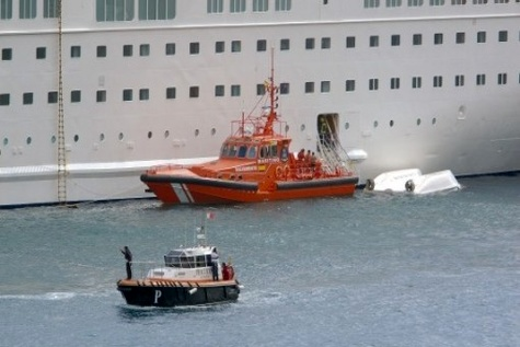 Accident onboard during lifeboat recovery from the water after drill