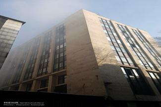 تخلیه ساختمان وزارت نیرو در پی آتش سوزی