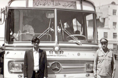 روایتی از اتوبوس و اتوبوسرانی مشهد از سال ۱۳۱۸ تا امروز