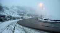 برخی مسیرهای ارتباطی زنجان مه آلود است