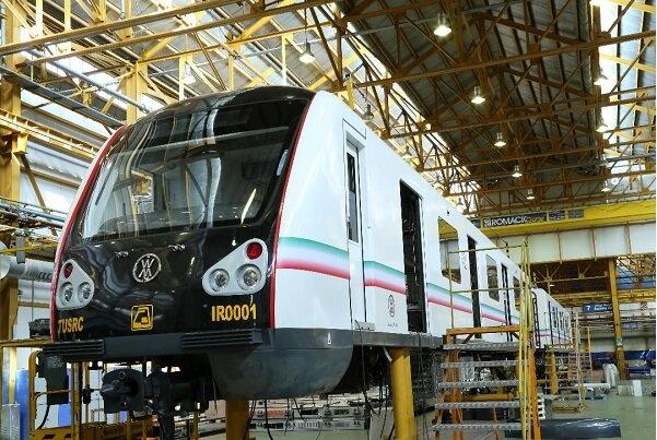 نخستین نمونه قطار ملی مترو رونمایی میشود