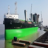 ESL launches second LNG-fueled dry cargo vessel