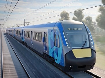 Melbourne airport rail link accord