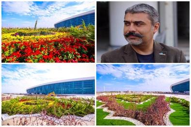کاشت 20 هزار اصله درخت در محوطه فضای سبز ترمینال سلام