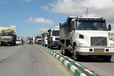تردد وسایل نقلیه سنگین در محور سمنان- فیروزکوه ممنوع شد