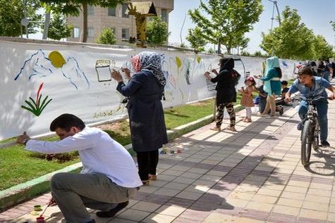 نماهای شهری در شرق تهران بهسازی می شود