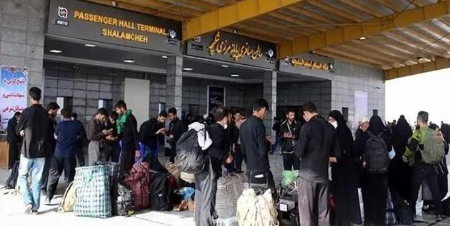 ورود ۳۰۰ هزار گردشگری عراقی به کشور از طریق مرز شلمچه ظرف یک ماه گذشته