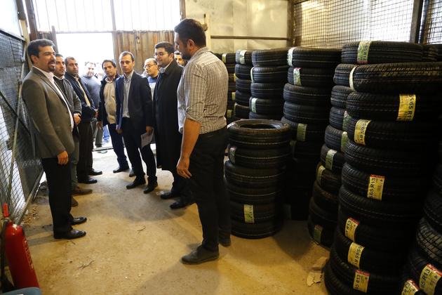 توزیع لاستیک نصف قیمت به 80 هزار تاکسی در تهران