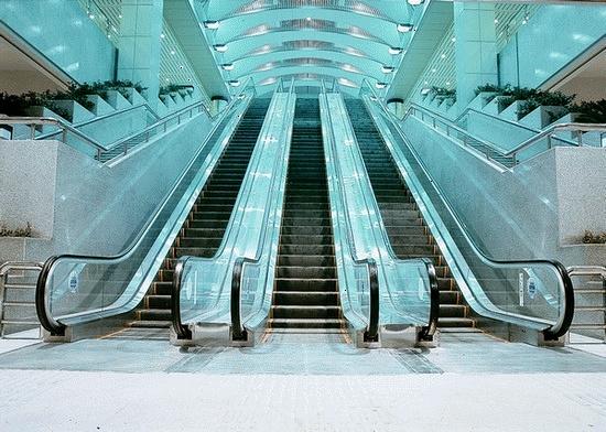 اولین پله برقی ساخت داخل در مترو تهران نصب میشود