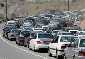 وضعیت ترافیکی محورهای مواصلاتی استان تهران