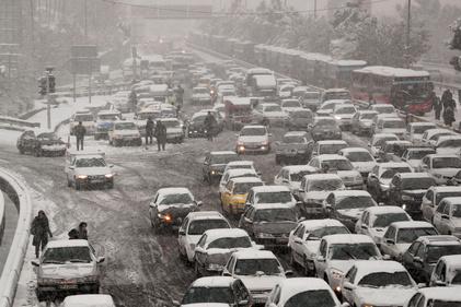 عکس| هماکنون؛ وضعیت غیر عادی ترافیک شهر تهران