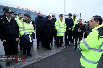 رزمایش طرح عملیات زمستانی شهر فرودگاهی امام