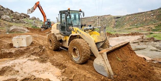 بازگشایی جاده معمولان ـ خرمآباد با همکاری قرارگاه خاتم و بخش خصوصی بازسازی شد