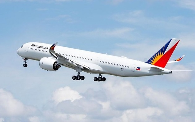 Philippine Airlines' first A350 flies