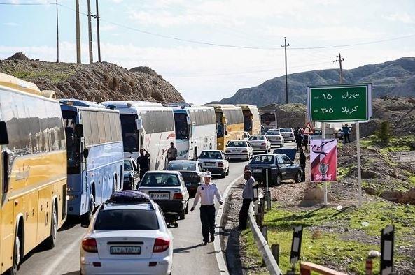 خدمترسانی 15هزار اتوبوس به زائران اربعین