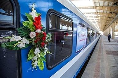 افزایش سرعت قطارهای کرمانشاه