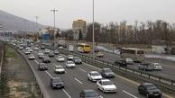 افزایش ۱۲ درصدی ترددهای جادهای/ ترافیک سنگین آزادراه کرج-تهران