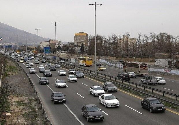 تردد در جادههای استان همدان ۱۵ درصد کاهش یافت