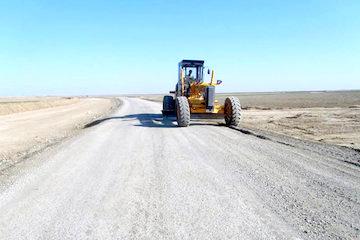 اجرای راه روستایی کبوترکوه در خراسان رضوی