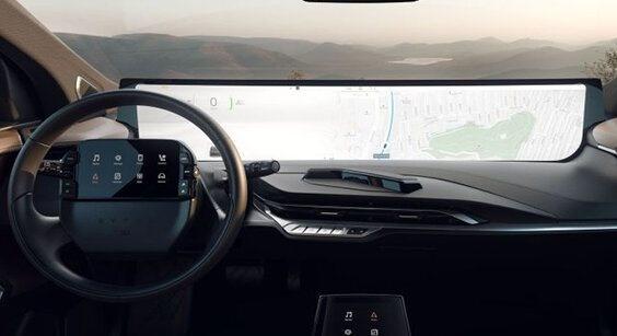 شیشه خودرو به نمایشگر دیجیتال تبدیل میشود