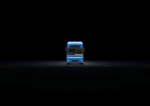 رونمایی از نخستین اتوبوس برقی داخلی