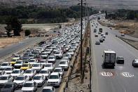 ترافیک سنگین درمحورهای مواصلاتی استان زنجان