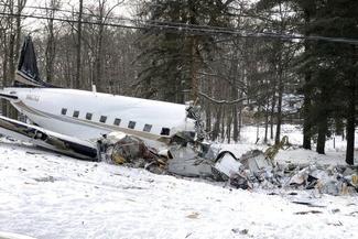 سقوط هواپیما در ایالت اوهایوی آمریکا+تصاویر