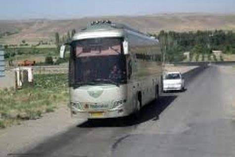 جابه جایی مسافران زنجانی به مرز مهران با ۱۵۷ دستگاه اتوبوس