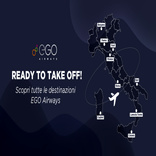 Italian start-up EGO Airways introduces network