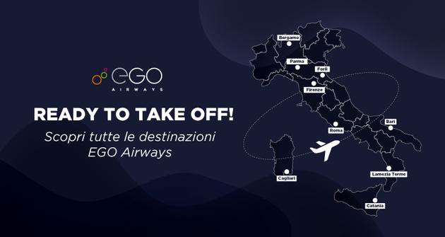 Italian start-up EGO Airways introduces network