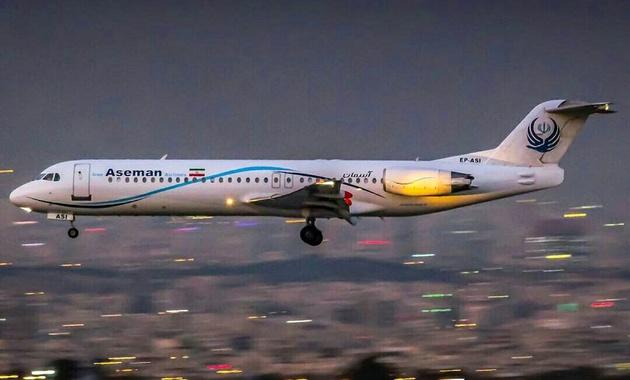 دلیل بازگشت پرواز دیشب تهران- کرمانشاه به مبدا چه بود؟