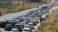 ترافیک سنگین در محورهای شمالی بدون نزولات جوی