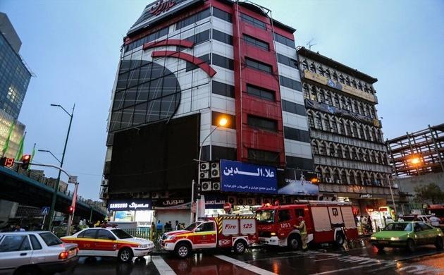 آتشسوزی در پاساژ علاءالدین تهران مهار شد