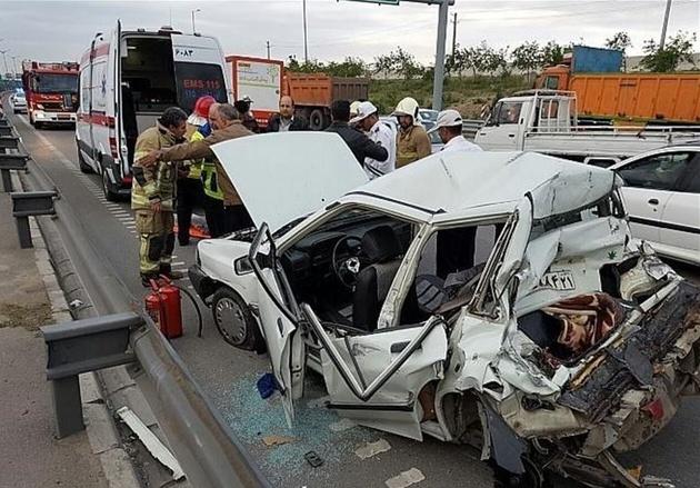 سهم کامیونها در تلفات رانندگی نیمه اول امسال چقدر بود؟