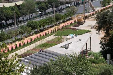 پیشرفت ۴ کیلومتری مسیرهای پیادهروی و دوچرخه سواری باغ راه حضرت فاطمه زهرا(س)