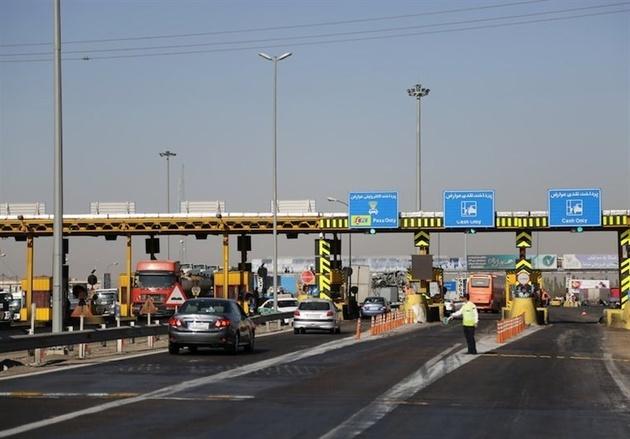 عوارض ۳۰ هزار تومانی قطعه یک آزادراه تهران - شمال
