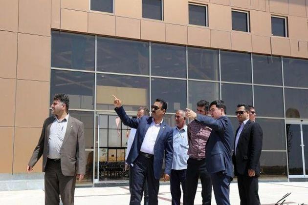حضور مدیرعامل راه آهن ترکمنستان در پایانه ریلی اینچه برون